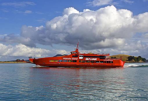 Venetia Featherstone-Witty - Waiheke Island Sea Link Ferry