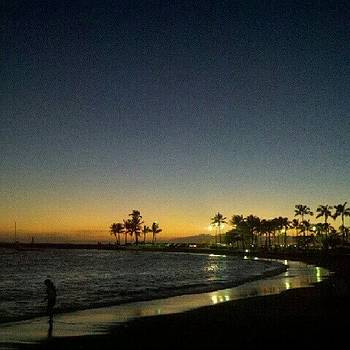 Waikiki Beach by Ashley Flowers