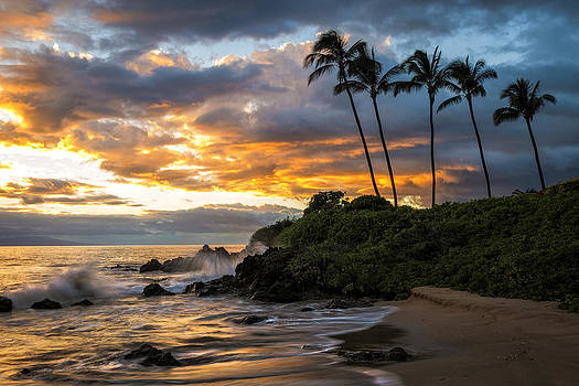 Wailea Sunset by Hawaii  Fine Art Photography