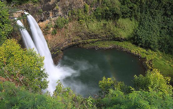 Wailua Falls Kauai Hawaii by Sam Amato