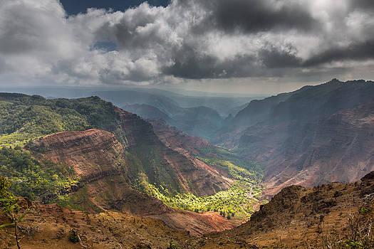 Waimea Canyon Kauai by Sam Amato