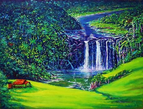 Waimea Falls lll by Joseph   Ruff