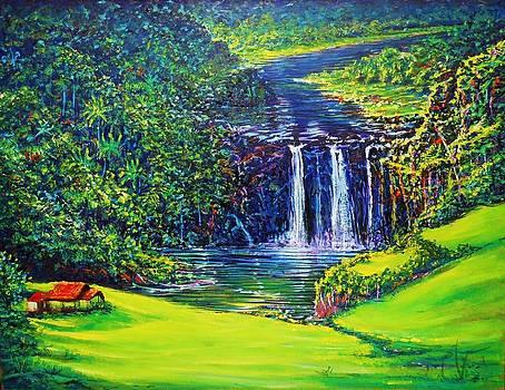 Waimea Falls l.5 by Joseph   Ruff