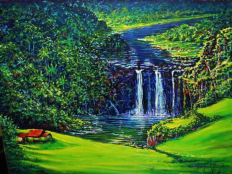 Waimea Falls ll by Joseph   Ruff