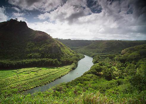 Waimea River  Hawaii Kayaks by Sam Amato