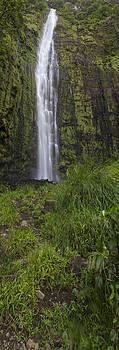 Waimoku Falls Panorama by Brad Scott