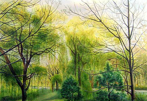 Waiting for Spring by Maria Varga-Hansen