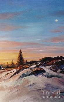 Waiting for Sunrise by Kathy  Karas