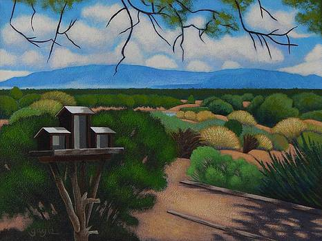 Waiting for the Birds by Gayle Faucette Wisbon