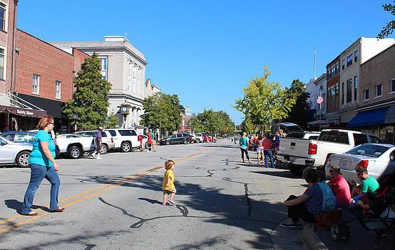 Waiting For the Parade by Carolyn Ricks
