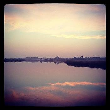 Waiting For The Sunrise #morning #marsh by A Loving
