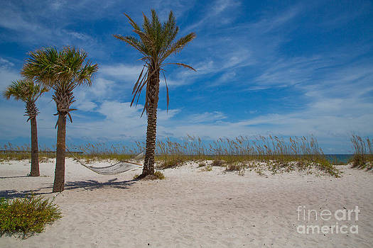 Waiting Hammock-Pensacola by Kimberly Blom-Roemer