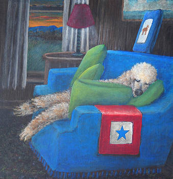 Waiting by Kenneth Stockton