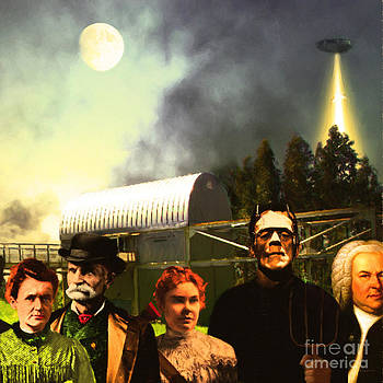 Wingsdomain Art and Photography - Waiting To Be Abducted By Visitors From Mars DSC912 square