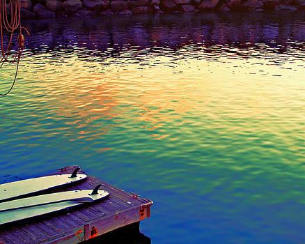 Waiting to Paddle by Arlene Carley