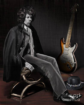 Waiting to Play - The  Jimi Hendrix Series by Reggie Duffie