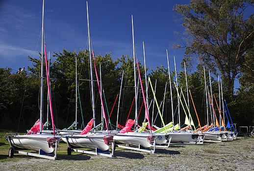 Venetia Featherstone-Witty - Waiting To Sail On Lake Taupo
