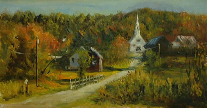 Vermont Motif  by Aline Lotter