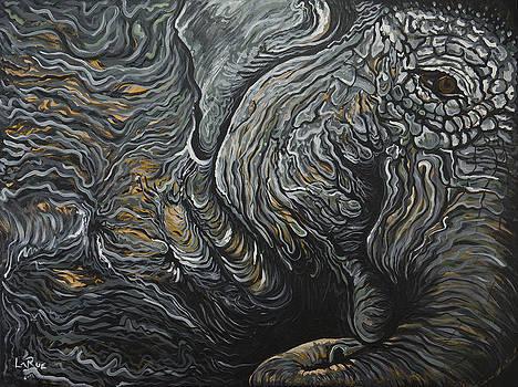 Waking Elephant by Doug LaRue