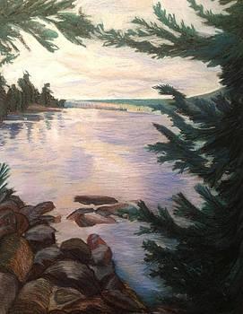 Waldo Lake by Kerrie B Wrye