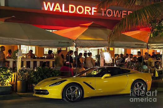 Lynn Palmer - Waldorf Tower Yellow Corvette