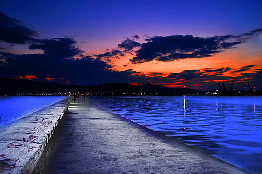 Walk Into The Blue by Konstantinos  Theodoropoulos