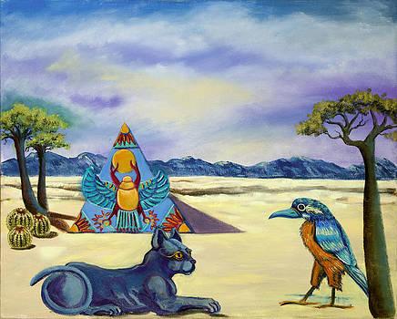 Walk like an Egyptian by Susan Culver