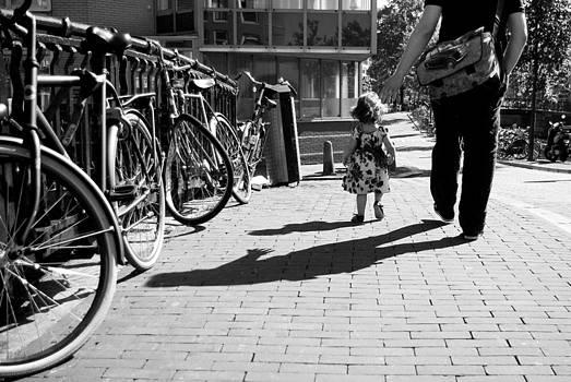 Walk safely little girl  by Steppeland -