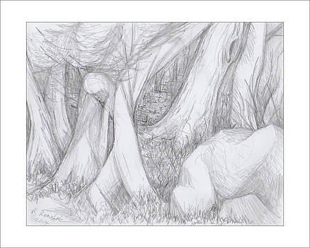 Walk thru the Woods by Ruth Renshaw