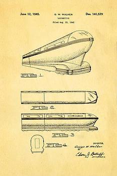 Ian Monk - Walker Train Locomotive Patent Art 1945
