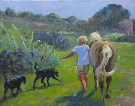 Walkies by Elaine Hurst