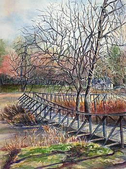 Janet Felts - Walking Bridge