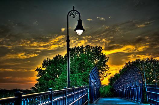 Walking Bridge by Mike Berry