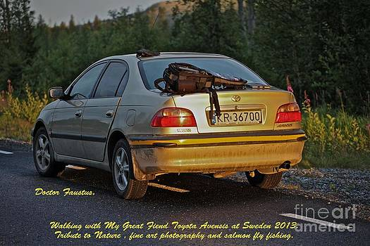 walking cheac to cheac with dreams and my Great Friend Toyota Avensis 2013 by  Andrzej Goszcz