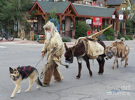 Fiona Kennard - Walking Down Main Street Frisco Colorado