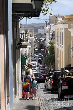 Jo Ann Snover - Walking in Old San Juan