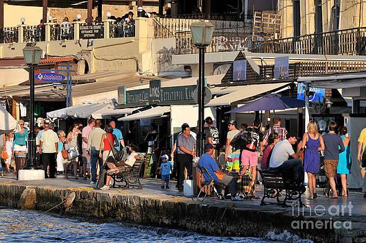 George Atsametakis - Walking in the old port of Chania