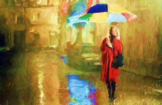 Walking in the Rain  by Djamel Adjimi