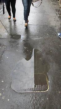 Walking in the Rain in Prague by Rosie Brown