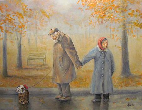 Walking Miss Daisy by Donna Tucker