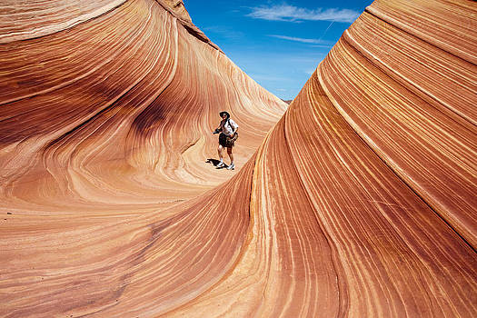 Walking on The Wave by Nathan Rupert