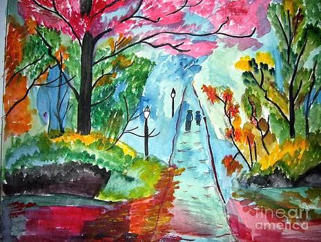 Walking Path by Purnima Jain
