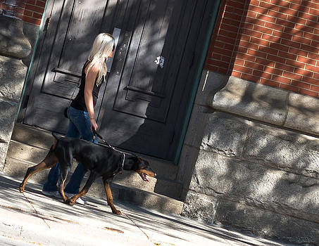 Walking the Dog by Edward Kay