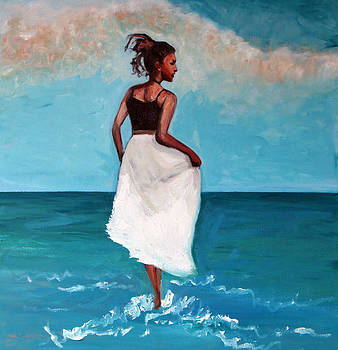 Walking the Surf by Francoise Lynch