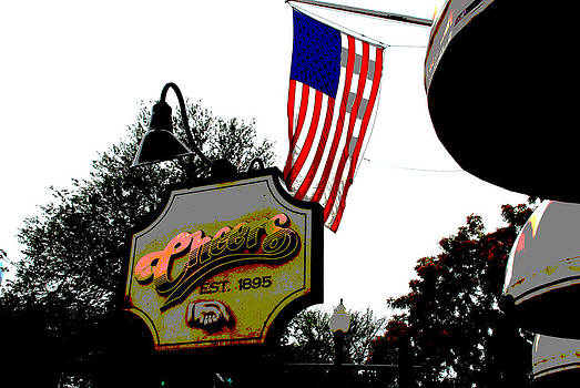 Charlie Brock - Walking through Boston 4 - Cheers Sign