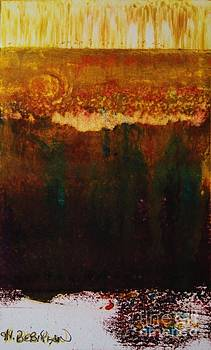 Walking Through The Fields of Gold by Helena Bebirian