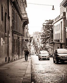 Christina Klausen - Walking Through the Streets of Rome
