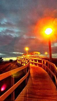 Walkway to Atlantic by Cindy Croal