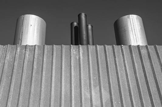 Wall and tubes by Arkady Kunysz