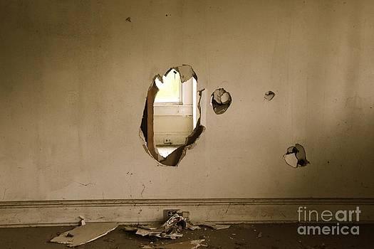 Broken Wall  by AR Annahita